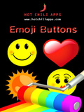 iPhone App Emoji Buttons