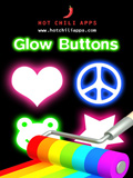 iPhone App Glow Buttons