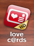 iPhone App Love Cards HD