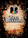 iPhone App Text Buttons