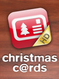 iPhone App Christmas Cards HD